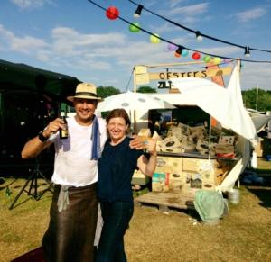 Oesterman - oesters - feest - beurs - bruiloft - bedrijfsfeest - catering - oesterman huren - Zilt en Zalig
